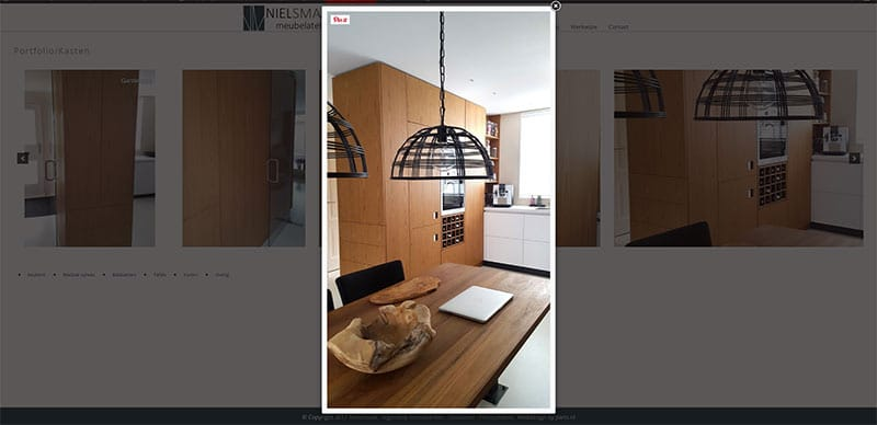 screenshot fotogalerij Nielsmaakt