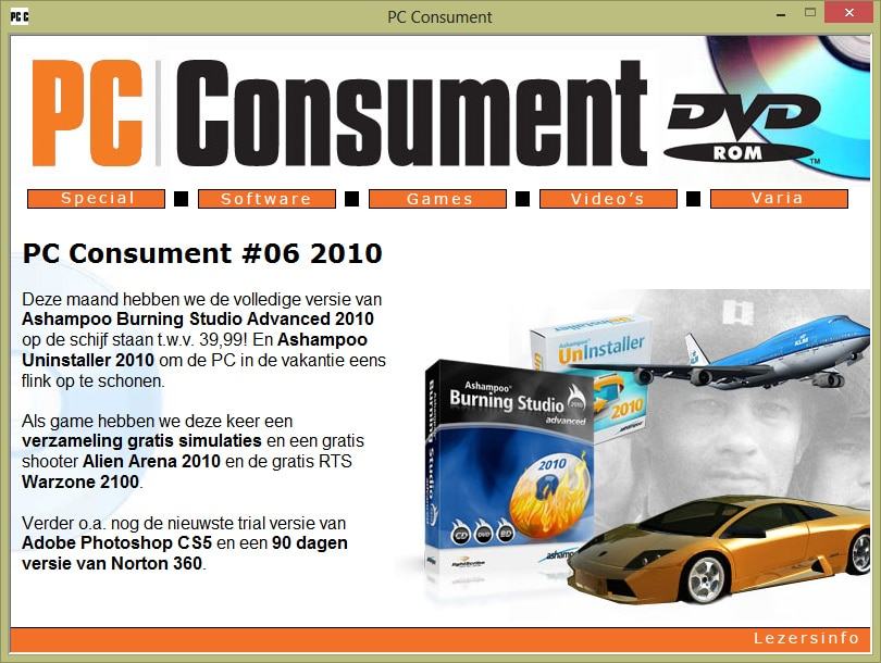 pc consument cd-rom