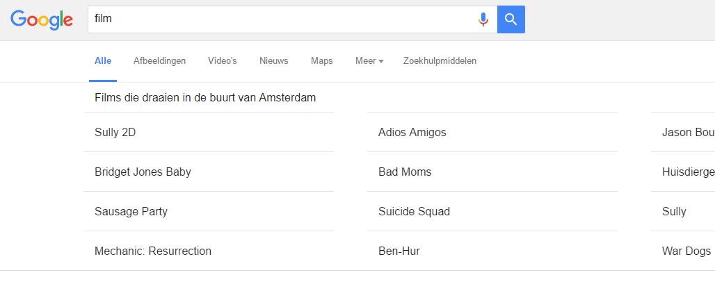 google-film-zoeken