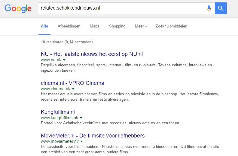 google-gerelateerd-zoeken
