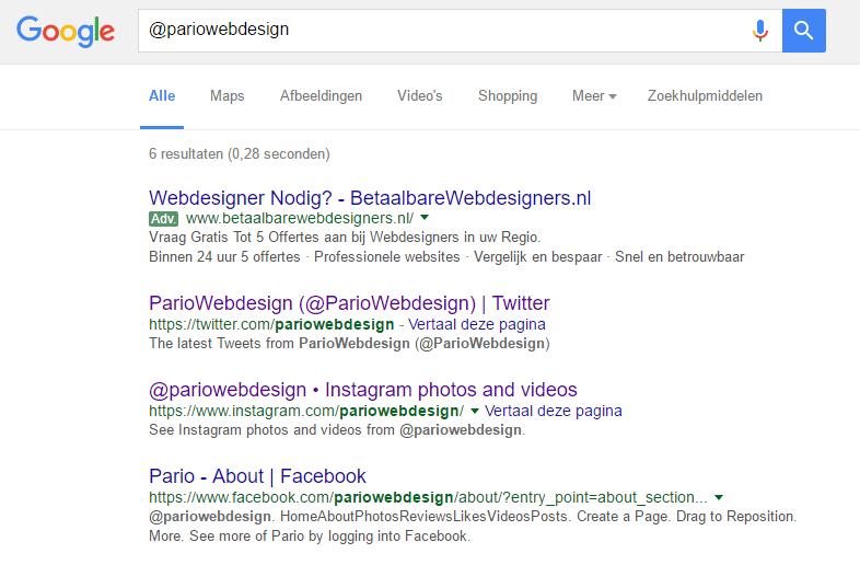 google-zoeken-social-tag