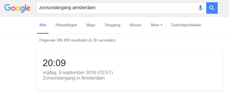 google-zonsondergang-amsterdam