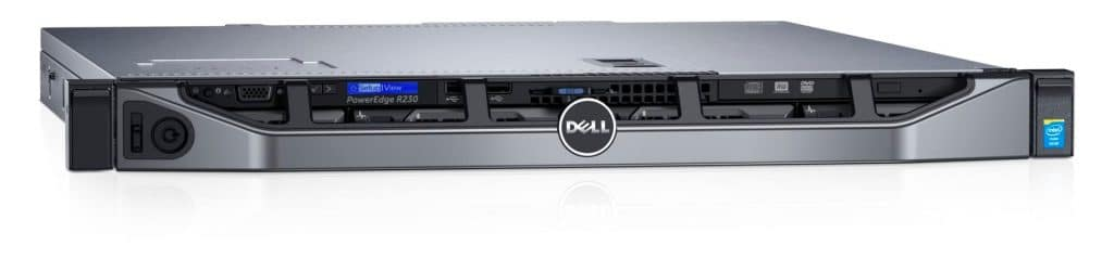 Dell poweredge 1u-server
